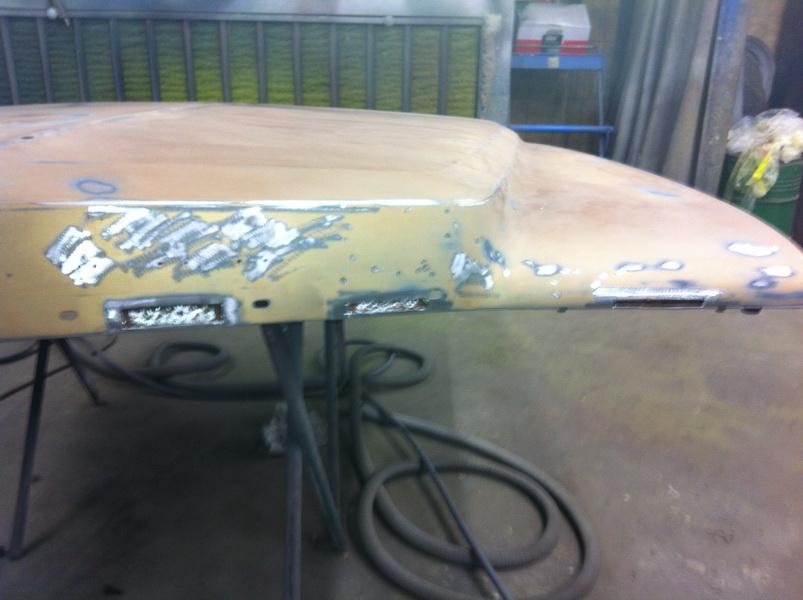 20111205 1977 cadillac eldorado biarritz body work process 29