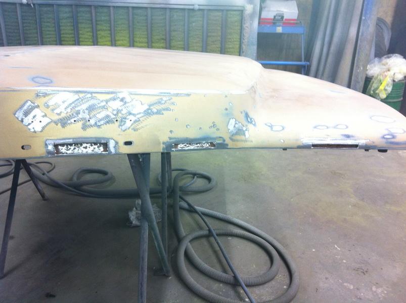 20111205 1977 cadillac eldorado biarritz body work process 30