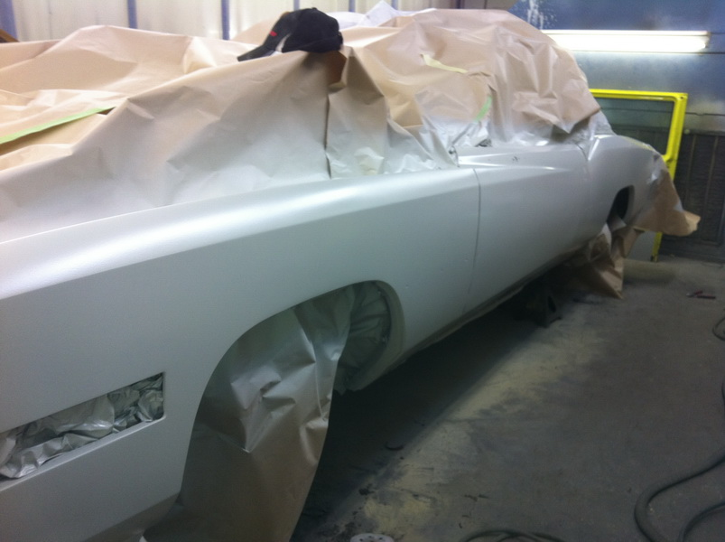 20111205 1977 cadillac eldorado biarritz body work process 48