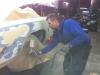 20111205 1977 cadillac eldorado biarritz body work process 17