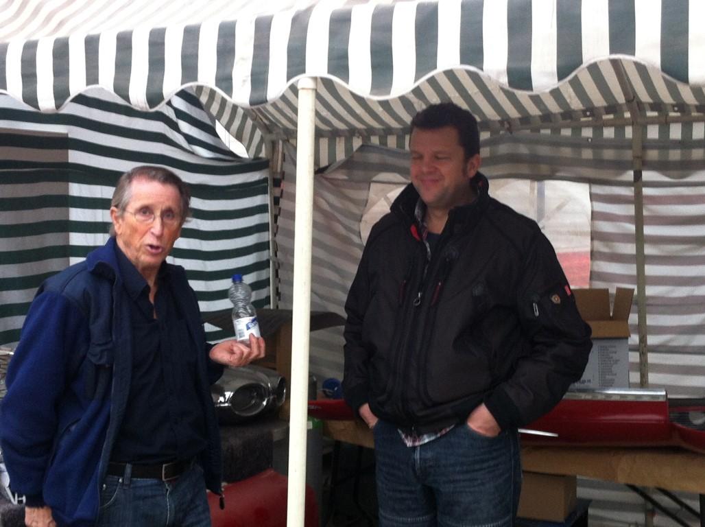 Kees Rooker en nieuw lid Nick van  der Meer uit 's Gravenzande.JPG