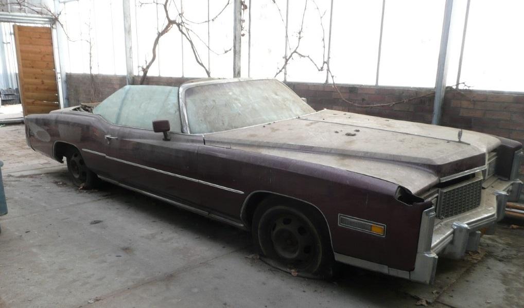 1976 Eldorado convertible