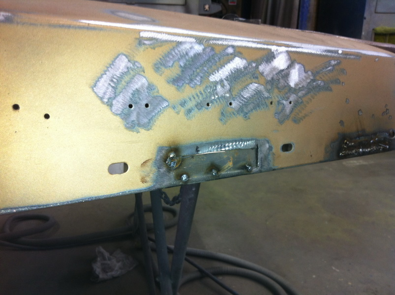 20111205 1977 cadillac eldorado biarritz body work process 32