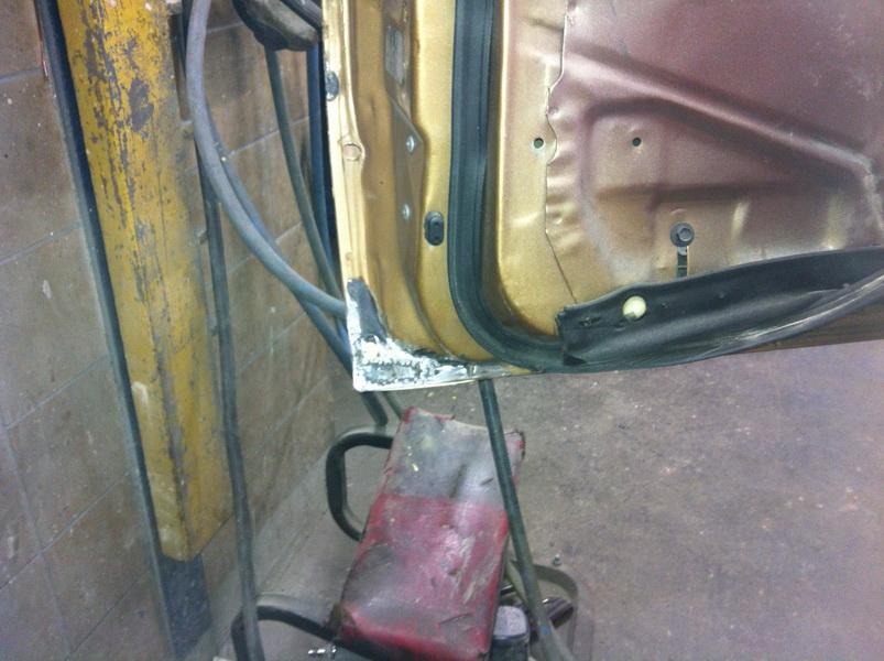 20111205 1977 cadillac eldorado biarritz body work process 47