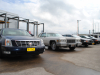 2007 DTS, 1976 Coupe de Ville, 1997 STS, 1995 Eldorado, 2001 STS.JPG